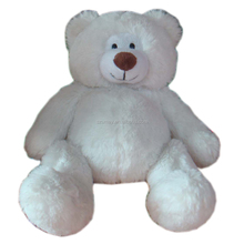 Lovely 60-100 cm Big big plush toy white bear soft stuffed animal