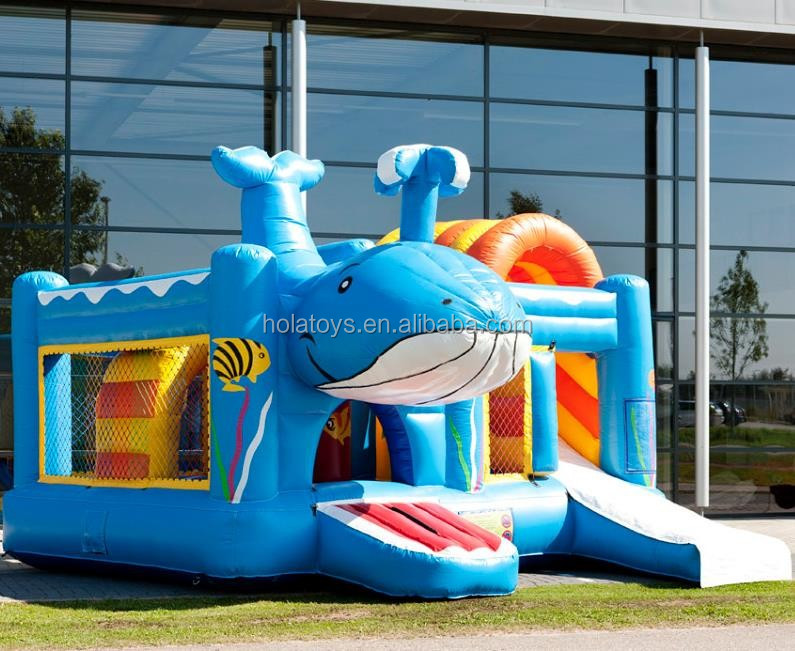 New whale bounce house/bouncy castle/inflatabel castle jumper