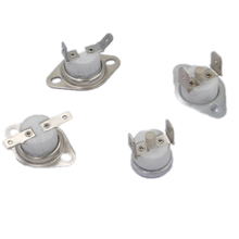Manual Reset Temperature Cutoff Switch Thermal Protector Bimetal Thermostat Thermal Switch 5A 10A 16A