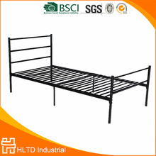 Modern simple all iron cheap single metal bed designs