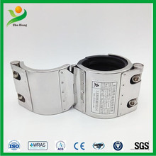 RCH single section repair clamp pipe exhaust joint rubber pipe clamps concret pipe rubber seal