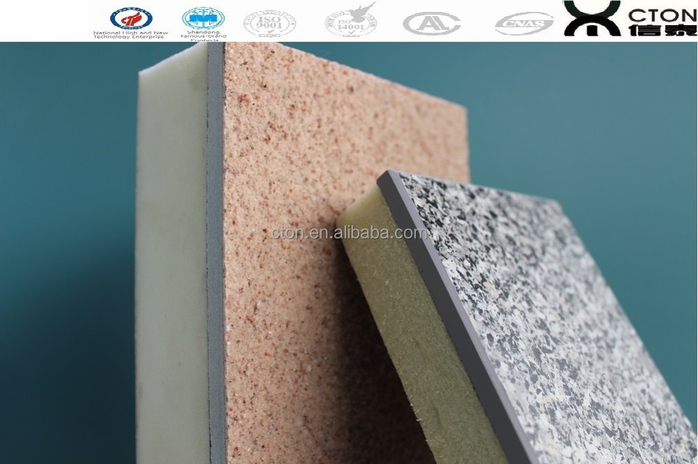 pu wall rigid insulated foam sheets polyurethane sandwich panel
