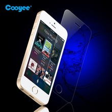 Original Cooyee brand color tempered glass screen protector for iPhone 5 SE