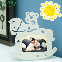 Practical best quality WPC photo picture frame custom different types wood paper beautiful photo frames