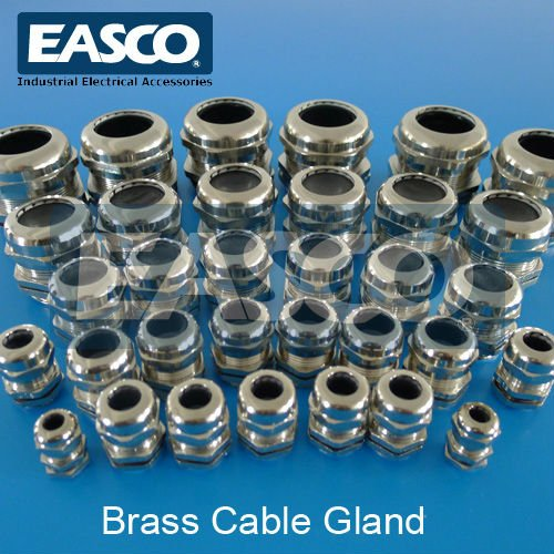 EASCO Metal Cable Gland (With Strain Relief)