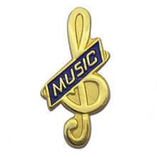 custom stamp metal tool Music operator pin badges making
