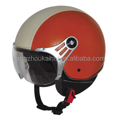 ECE certificate open face helmet for motorcycle scooter and street bike