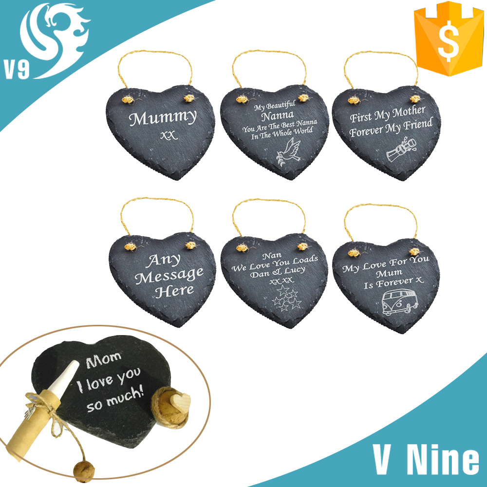 wholesale fashion carved stone custom souvenir slate personalized gift
