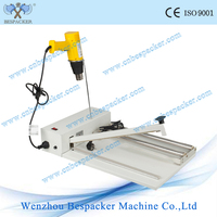 Handheld plastic film manual plastic bag sealing machine hand impulse sealer plastic bag sealing machine with shrinking gun