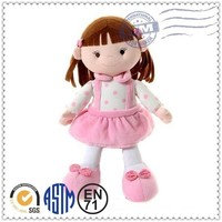 Promotion high quality fashion top selling lovely doll set