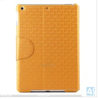 maze pattern wallet cover stand cover PU leather cases for ipad 5