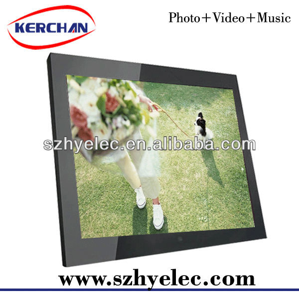 cheap wholesale wooden picture digital frame factory