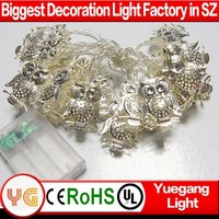 mini christmas light with batteries new style led christmas light owl christmas light ornaments rotator