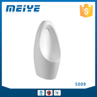 5009 Wall-mounted Ceramic White Quality Urinal, Modern Bathroom Design, Splash-free Surface and Easy-to-mountain Performance