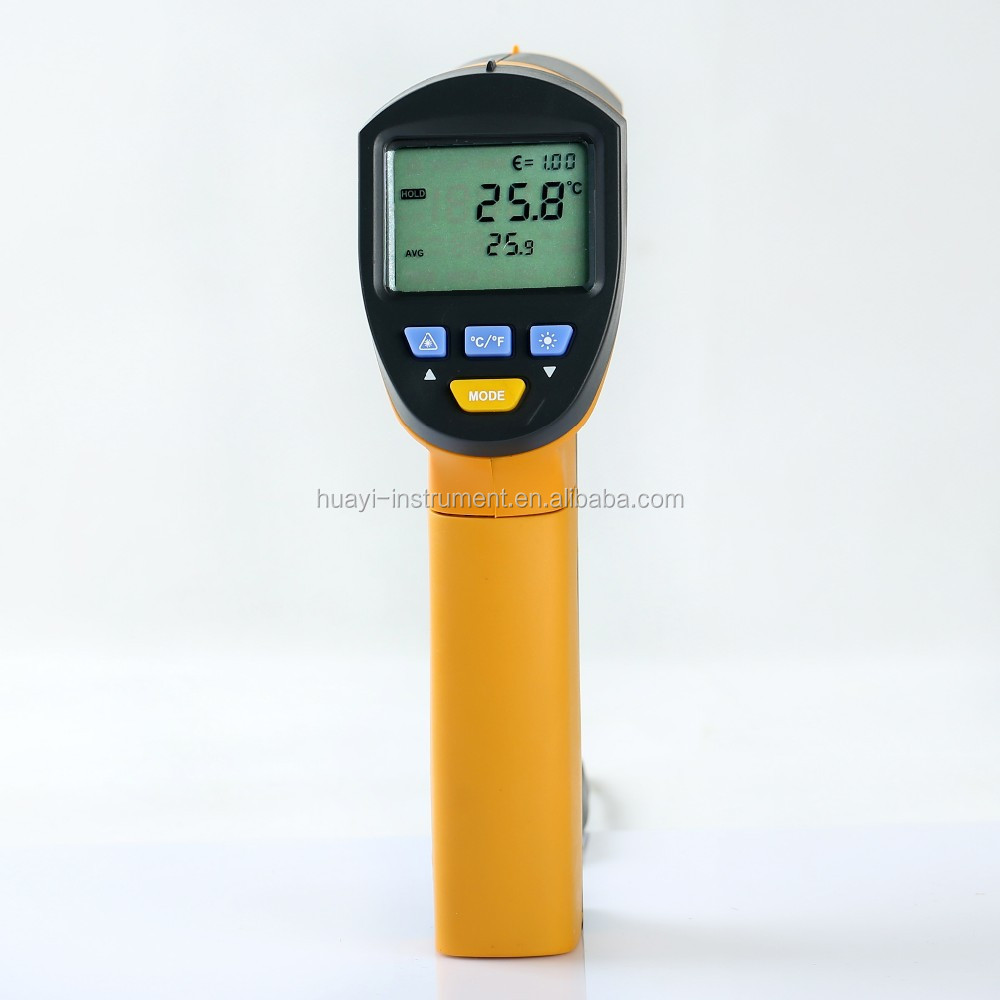 1200 degree non contact infarred thermometer MS6550A with USB,50:1 Infrared &K-type thermocouple IR Thermometer