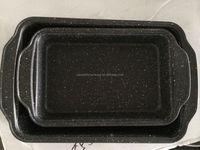 marble baking tray set