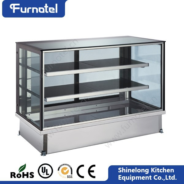 Commercial Hotel Refrigeration Equipment R134A / R404 Cake Display Chiller