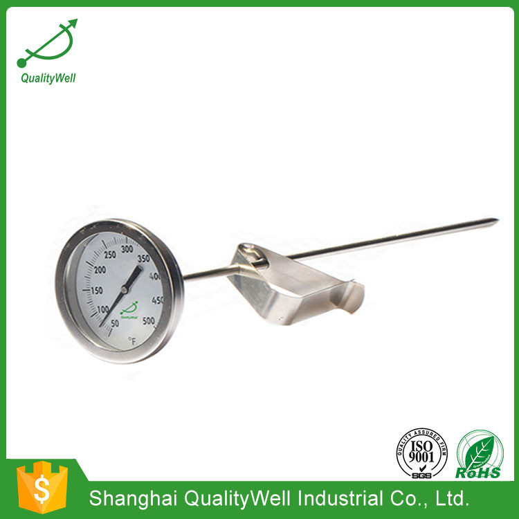 Industrial/household bimetal thermometer