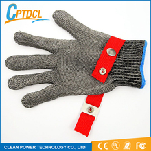 High quality finger protection cut heat resistant gloves for mechanic carving glass automobile industry