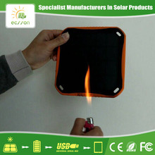 New design anti-overcharge solar panel charger circuit with flashlight