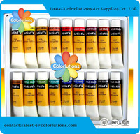 OEM Well quality Cheap price paint in stone,paper,wood non toxic professional acrylic paint