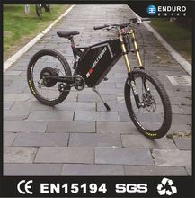 Green Power Long Range Electric Bike With Brushless Motor