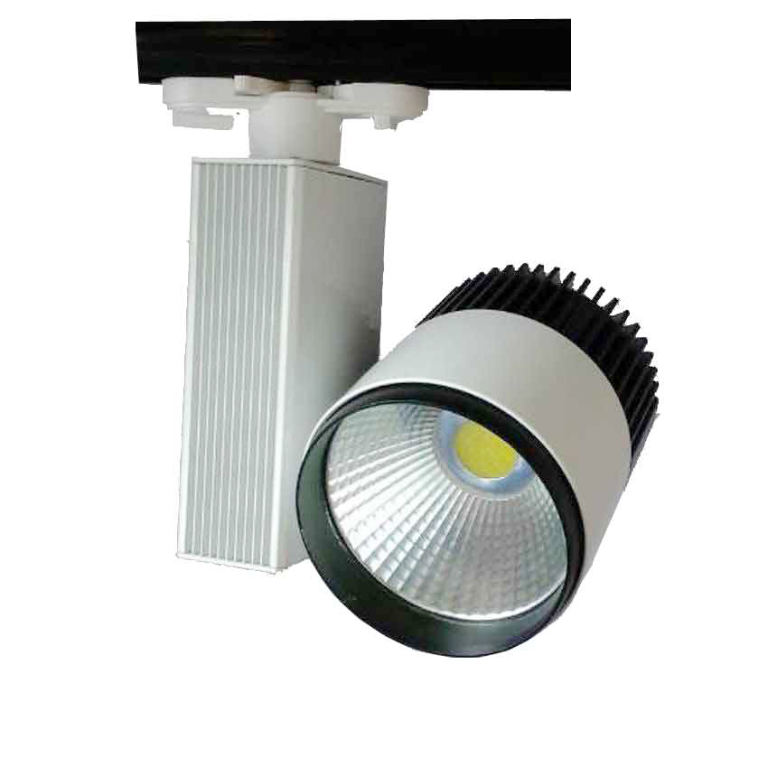 Manufacture Wholesale Commercial cob LED Track Light 50W, 50W LED Track Light