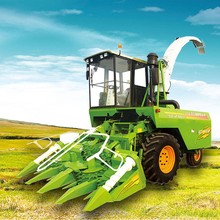 Agriculture forage harverster Machinery corn Silage Harvesters for sale in China