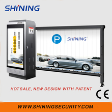 Intelligent automatic Parking advertising barrier with CE approved