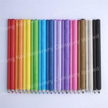 Children standard non-toxic high quality rainbow lead paper color pencil