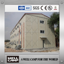 Qatar project labour camp accommodation
