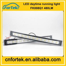 High Quality Low Price Accessories hyundal FK 008-Q1 12v LED drl/Daytime Running Lights used cars for Ford, Volvo,Honda