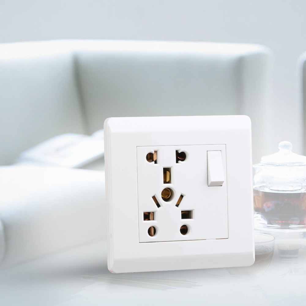Energy saving Green and eco-friendly luxury electrical wall switch Sockets