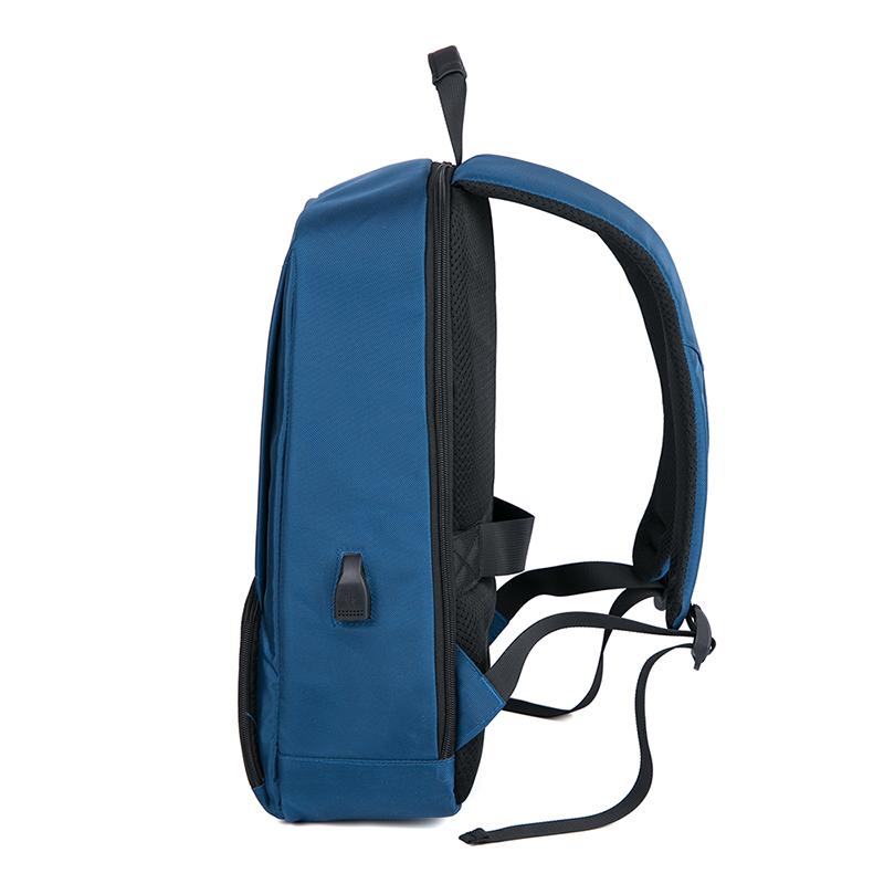 Оптовая продажа пользовательские Модный водонепроницаемый нейлон рюкзак для ноутбука сумки с портом usb