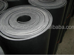 High temperature resistant up to 250 7Mpa 4mm thick Viton rubber sheet