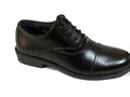 non slip rubber outsole genuine cow leather breathable men officer shoes for police/army
