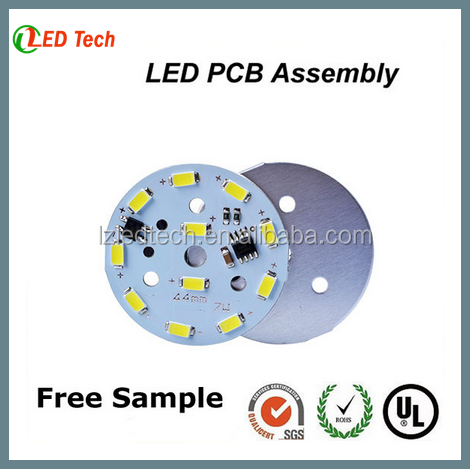 220V Aluminum LED Bulb Light PCB, OEM MCPCB Manufacturer