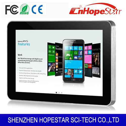 High quality mini Android 7 10 inch ad player advertising display