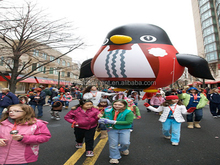 14' Penguin Helium Parade Balloon Inflatable Advertising