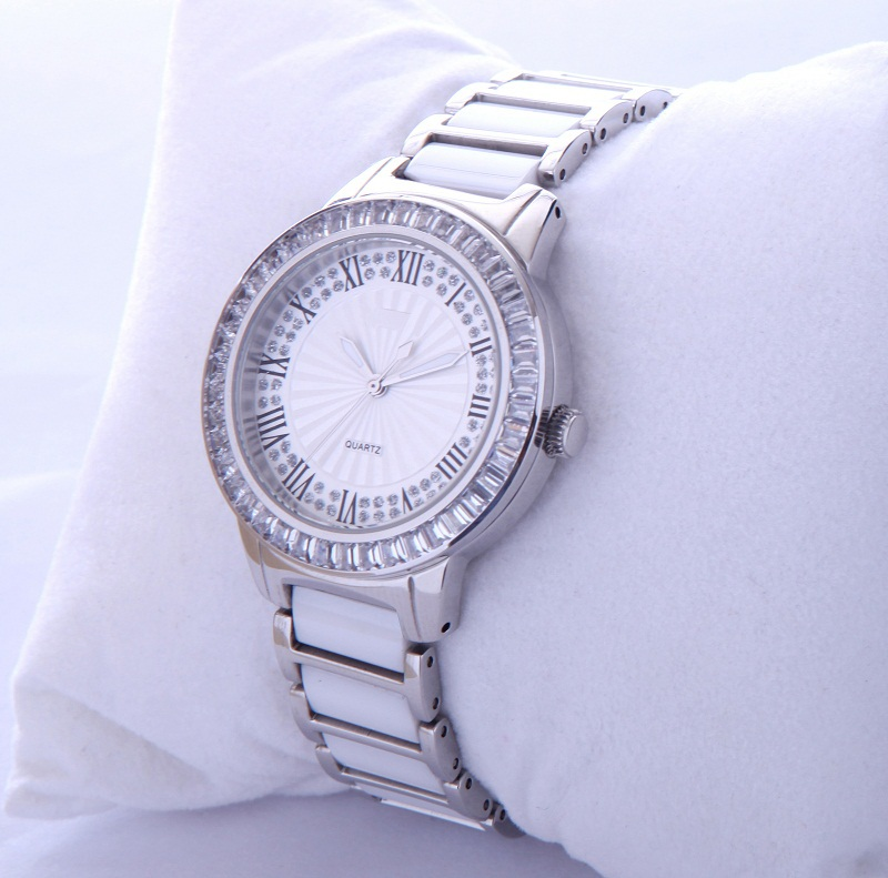 Assisi brand Women's custom japan movt quartz watch diamond stainless steel