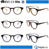 New vogue european style novel old fashioned acetate design reading glasses optics eyeglass frames