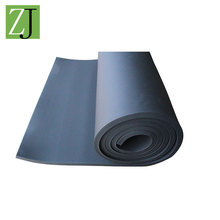Wholesale low price duct diaphragm rubber foam insulation material roll 5cm