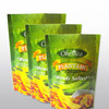 Plantain Chips Packaging Bags Resealable Stand Up Pouch With Zipper