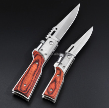multifunction folding knife assist opening pocket knife with led flashlight