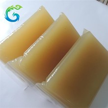 yellow solid jelly glue with fresh scent.mostly export in middle east country.