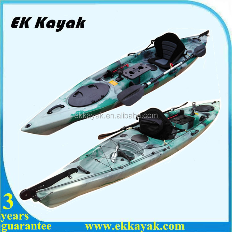 Cheap plastic professional pedal fishing kayak for for Best cheap fishing kayak
