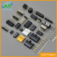 Dongguan KR2542 cheap electrical wire harness assembly wire to board PCB conector 2.54mm pin header connector