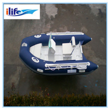 IL-B330B Upgraded version 3.3m inflatable glass bottom boat for sale