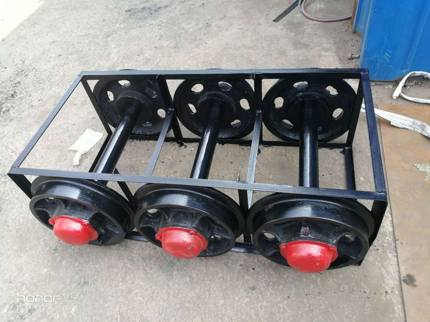 Wholesale 600mm Track Cast Steel Mine Cart Wheel For Coal Mine Use