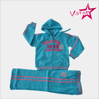 Kid s Casual Wear Wholesale Fleece Sets Embroidey Clothing for kids